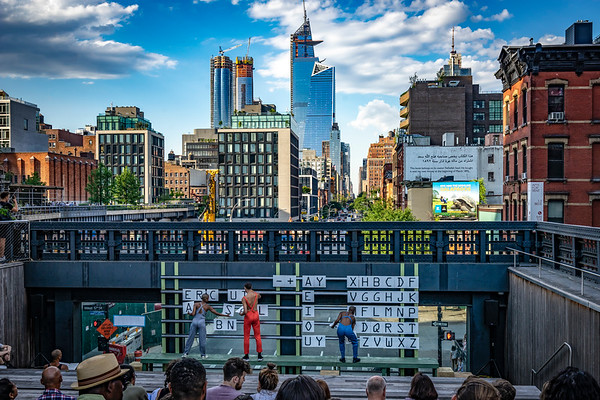 High Line Alphabet