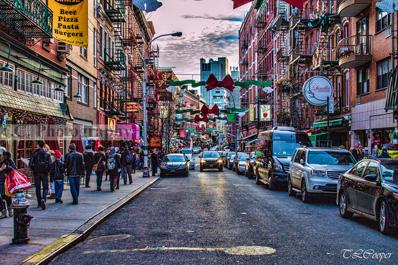 Little Italy in Manhattan, NY