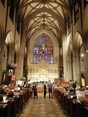 Bach at 1:00 pm, Trinity Church