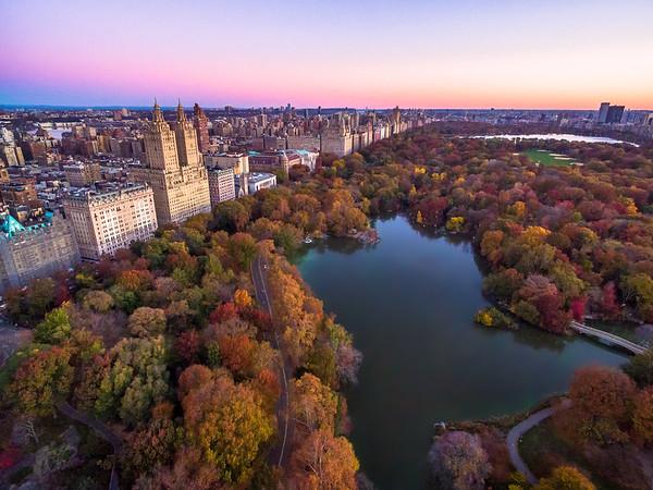 Autumn over Central Park