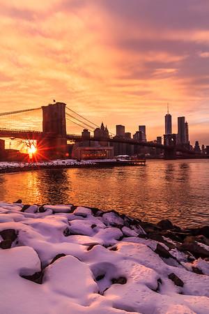 Winter Sunlight in NYC