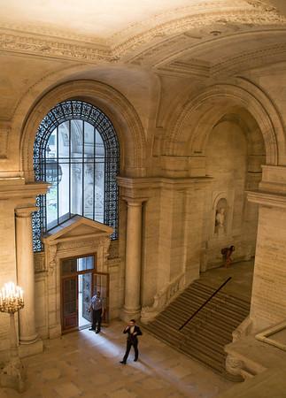 Lobby, NYPL
