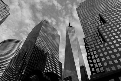 One WTC in Black and White
