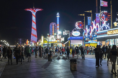 Friday Night on Coney Island