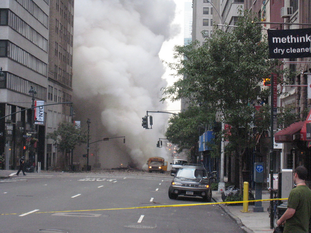 Midtown Steam Pipe explosion
