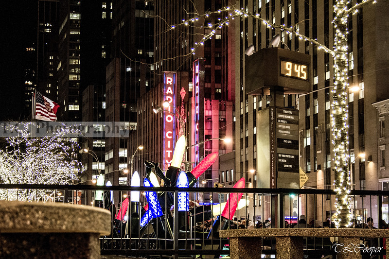 Radio City Music Hall during Christmas, NYC