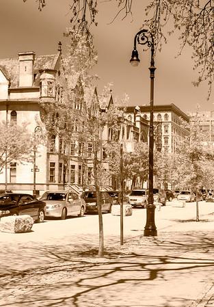 Harlem, near Marcus Garvey Park