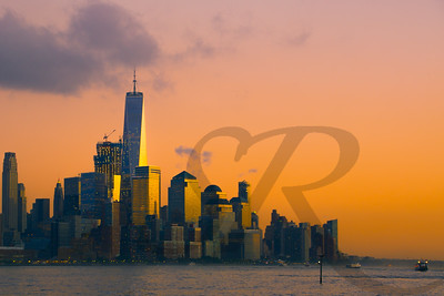 Freedom Tower Sunset