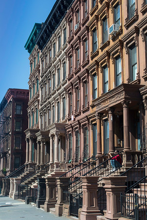 Brownstones, Harlem