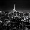 NYC B&W Skyline