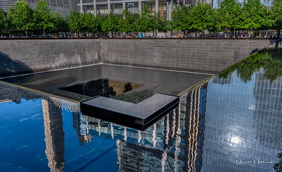 Reflections and a time to reflect at the 9/11 Memorial