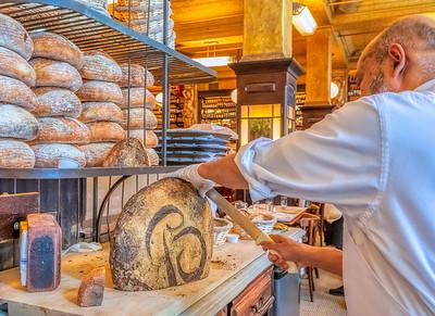 Balthazar French restaurant in SOHO--5 star!!