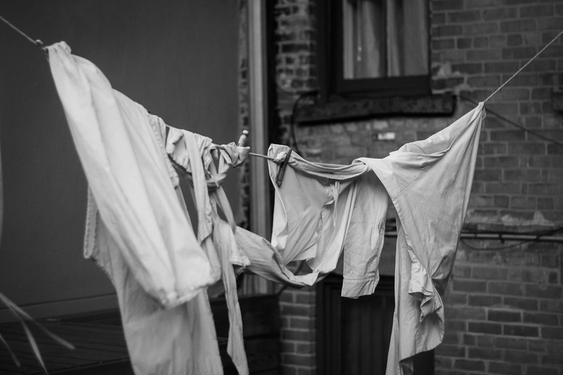 Bowery clothes line
