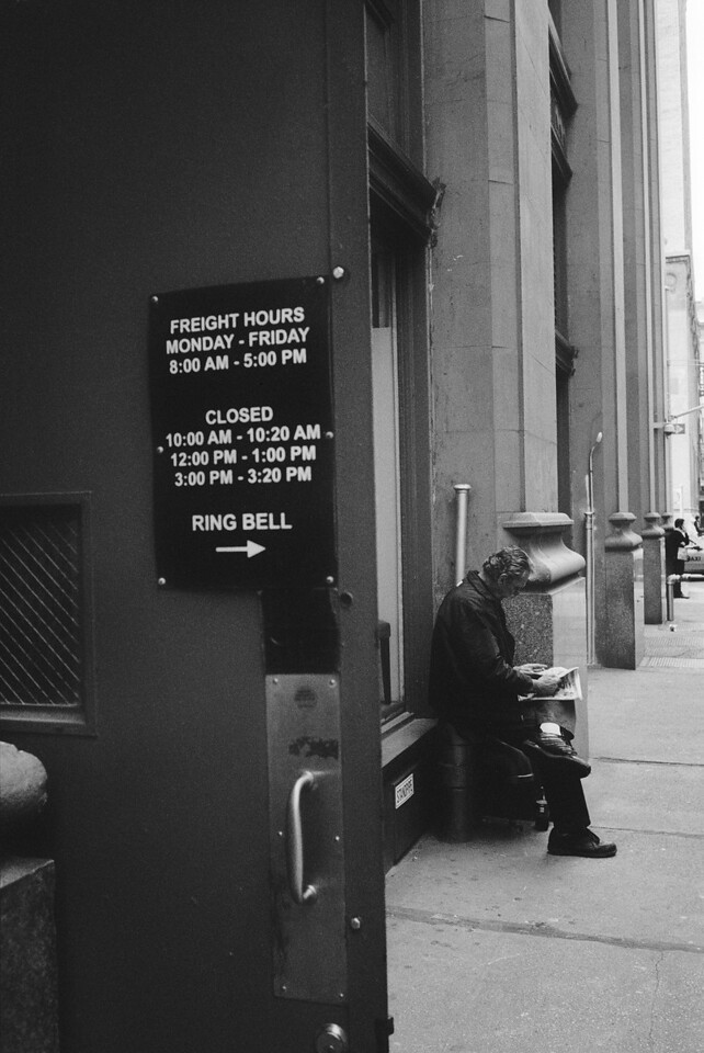 NYC, Lower Midtown, May 2011, Tri-X 1600, RM2 35mm
