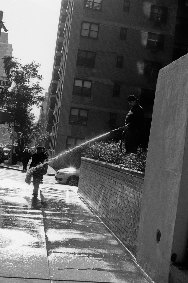 NYC, Upper East Side, October 2011, Tri-X 800, iiif