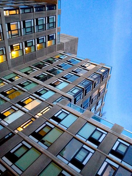 Angle Blue High Line