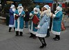 Blue Santa Ensemble