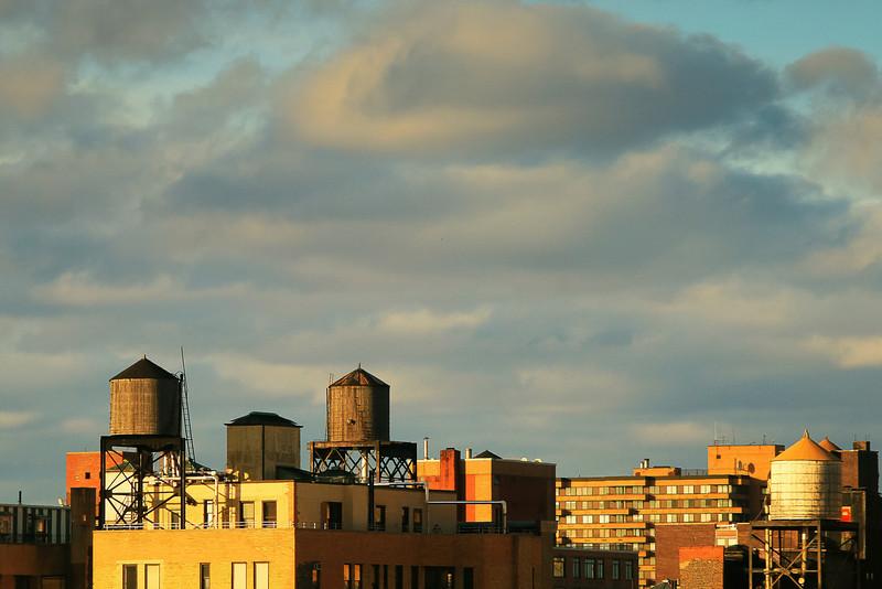 High Rises and Water Tanks, NY