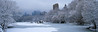 Central Park Panorama with Snow and Ice, NY