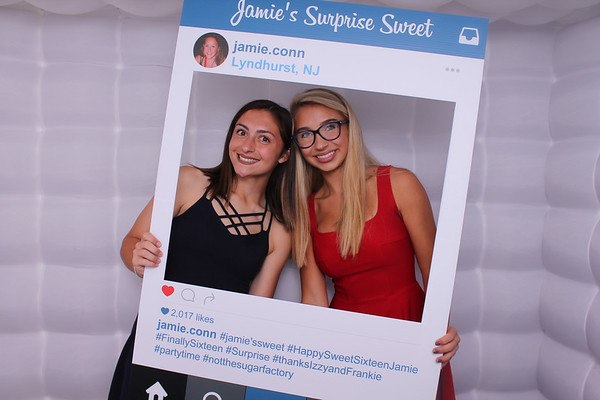 Jamie's Surprise Sweet 16