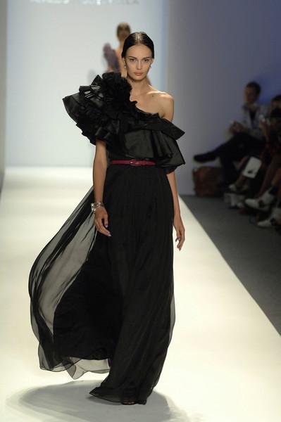 Sep 11, 2008 - New York, NY, USA - AURELIO COSTARELLA fashion show at the 2009 Spring & Summer NY Fashion, held at Bryant Park: (Credit Image: © Chris Kralik/KEYSTONE Press)