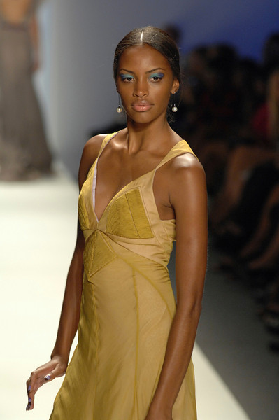 Sep 11, 2008 - New York, NY, USA - AURELIO COSTARELLA fashion show at the 2009 Spring & Summer NY Fashion, held at Bryant Park: (Credit Image: © Chris Kralik/KEYSTONE Press)