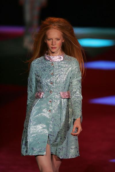 Sep 11, 2008 - New York, NY, USA - CUSTO BARCELONA  Fashion Show 2009 Spring & Summer NY Fashion held at Bryant Park<br /> (Credit Image: © Andreaa Angelscu/KEYSTONE Press)