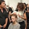 Sep 12, 2008 - New York, NY, USA - BACKSTAGE at the CARMEN MARC VALVO fashion show at the 2009 Spring & Summer NY Fashion, held at Bryant Park: (Credit Image: © Chris Kralik/KEYSTONE Press)