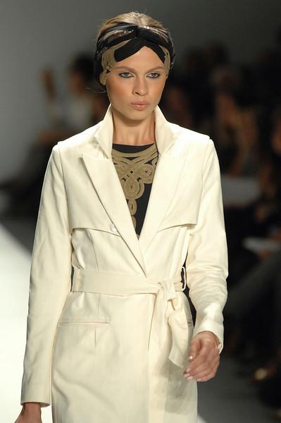 Sep 10, 2008 - New York, NY, USA - MARA HOFFMAN fashion show at the 2009 Spring & Summer NY Fashion, held at Bryant Park: (Credit Image: © Chris Kralik/KEYSTONE Press)