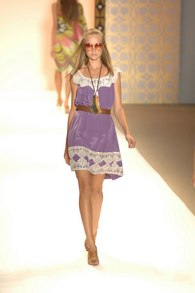 Sep 10, 2008 - New York, NY, USA - MILLY by MICHELLE SMITH fashion show at the 2009 Spring & Summer NY Fashion, held at Bryant Park: (Credit Image: © Chris Kralik/KEYSTONE Press)