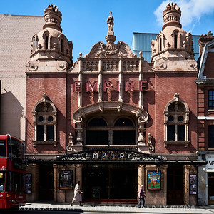 The Hackney Empire Theatre, London