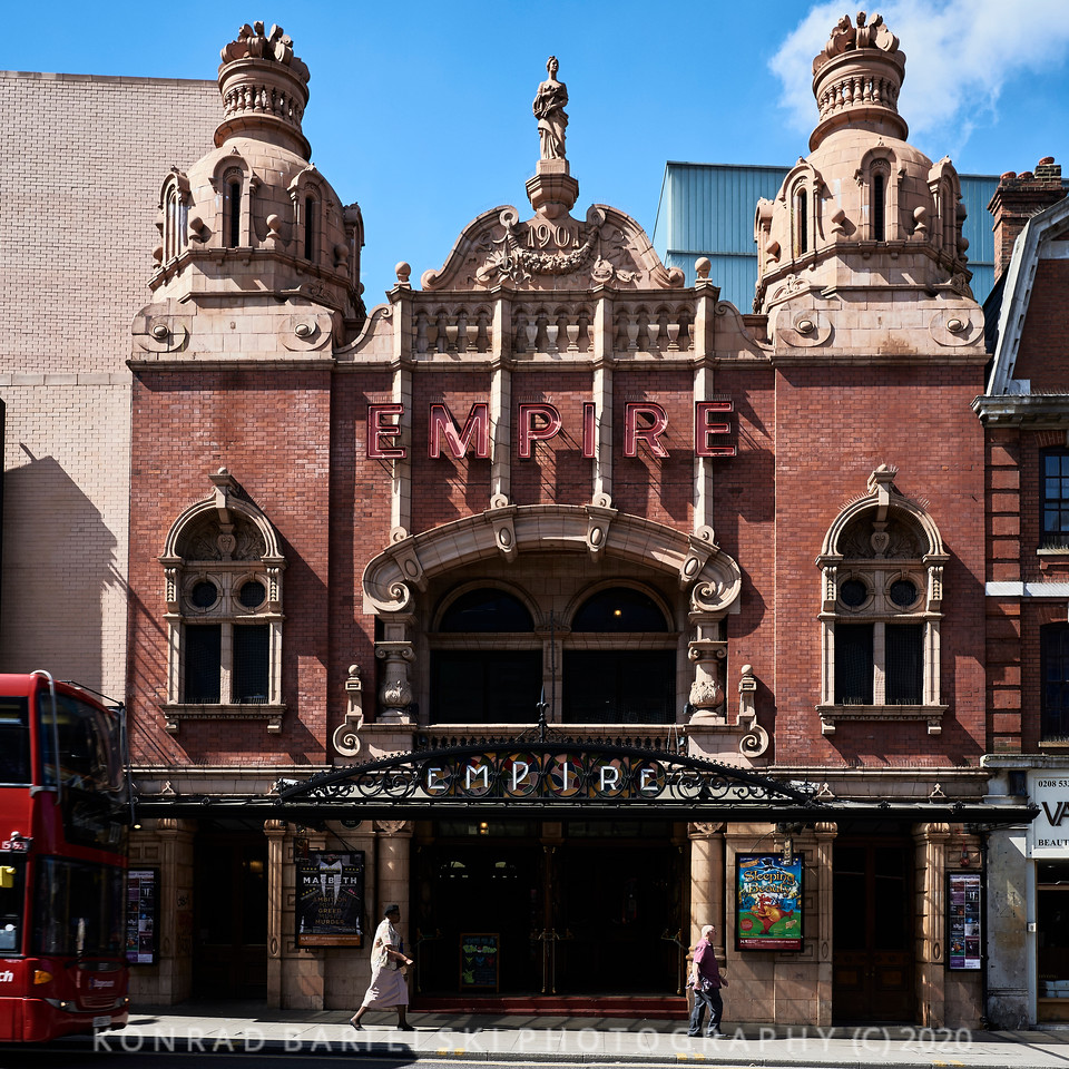 The Hackney Empire Theatre, London