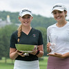 Champion Bailey Shoemaker (Seven Oaks GC) & runner-up Elena Lopez (Crag Burn GC)