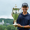 Luke Sample (NYSGA eClub - NYC) with the Hickok Cup