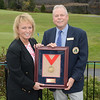 Dottie Pepper and NYSGA Executive Committee Member John Cooney of Olde Kinderhook GC