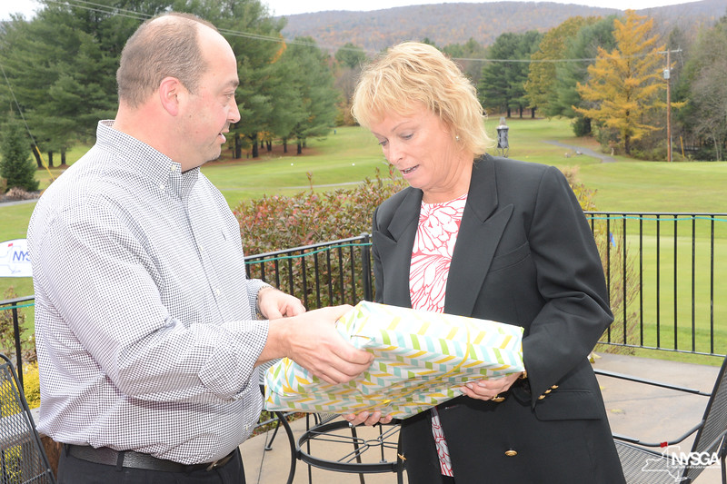 PGA Professional Kevin Canale and Dottie Pepper