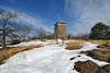 Winter View of the Perkins tower  1-14-13