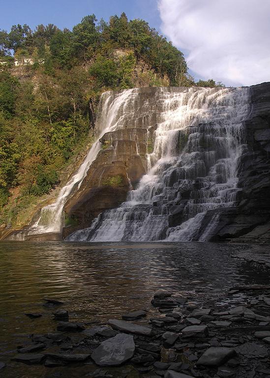 Visiting Ithaca Falls