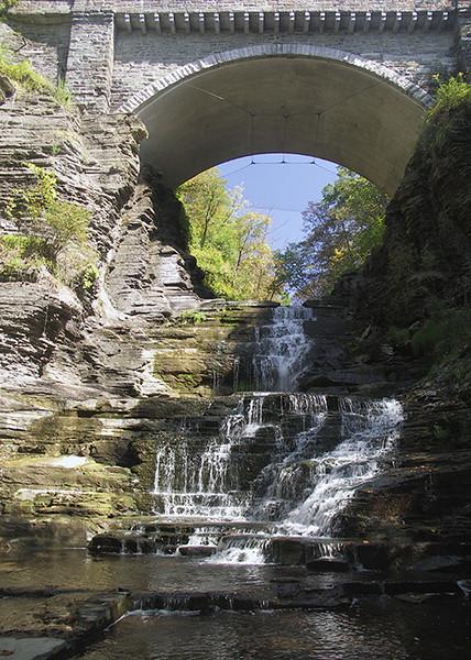 Cascadilla Gorge, Cornell University