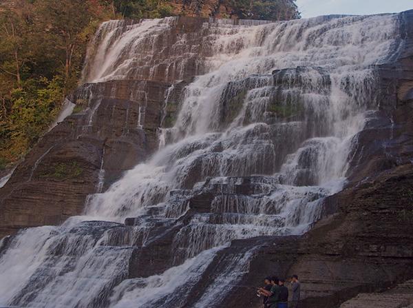 Ithaca New York Waterfalls