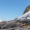 Mountain peaks near Lake Te Anau, Fiordland