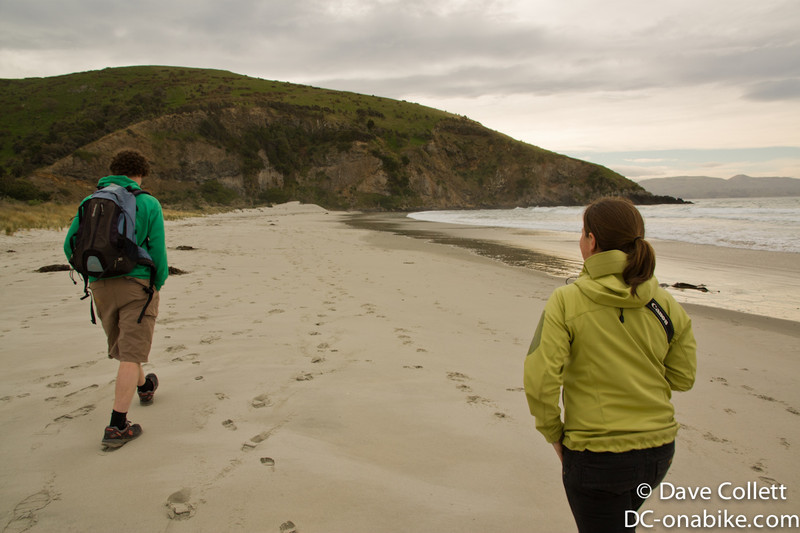 Rowan and Claire at Murdering Beach