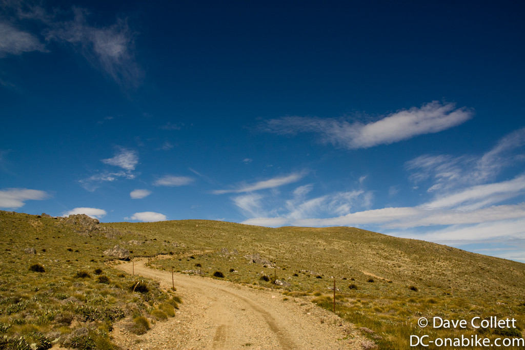 On top of Black Birch Ridge