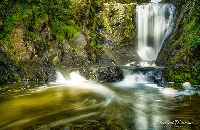 Piroa Falls long exposure