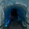 The spinning ice tunnel. Blergh!