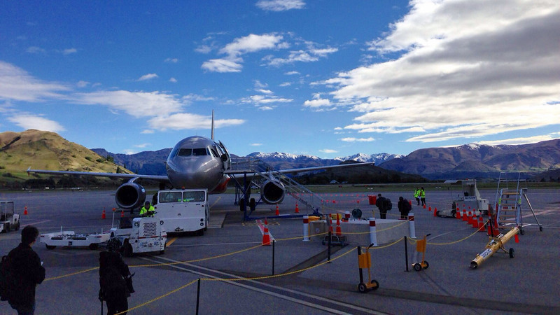 It has been a great week and I will definitely come back to New Zealand! <br /> My ride from Queenstown to Sydney<br /> #iphone