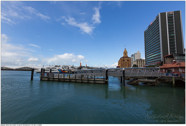 Queens Wharf, New Zealand