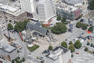 Christchurch City CBD Cathedral Square