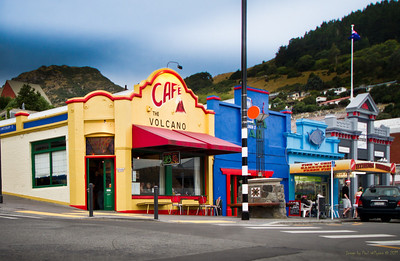 Volcano Cafe and Lava Bar, Lyttelton