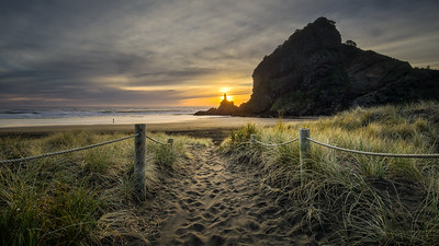 Piha Sunset